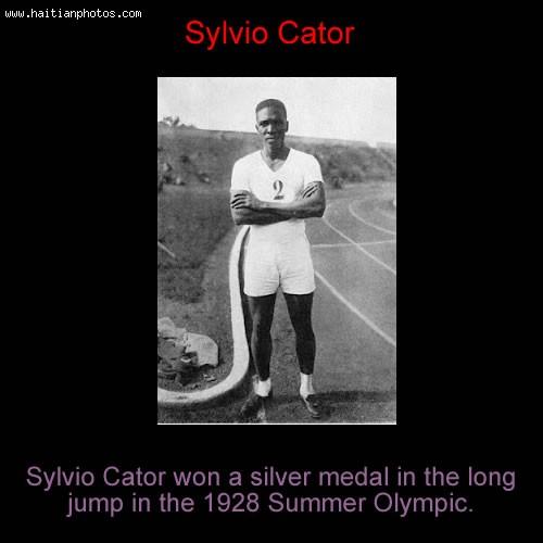 Haiti Olympic Games, Sylvio Cator