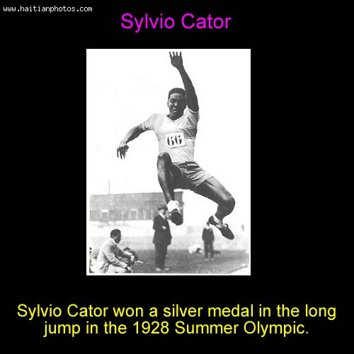 Sylvio Cator At The Olympic Games