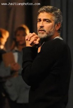 George Clooney Made Hope For Haiti Telethon For Earthquake Victims