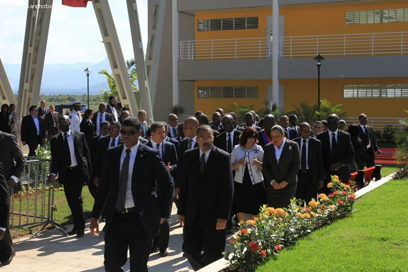 Henry Christophe University, Limonade, Northern Haiti At Inauguration