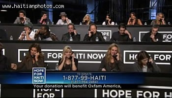 George Clooney Rallies Most Of The Biggest Names For Hope For Haiti Telethon