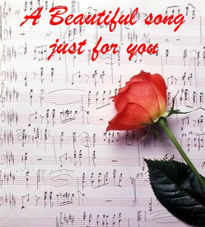 A beautiful song just for you