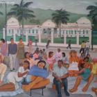 Haiti National Palace Painting