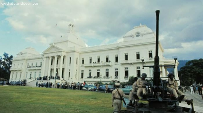 Haiti National Palace, Side View