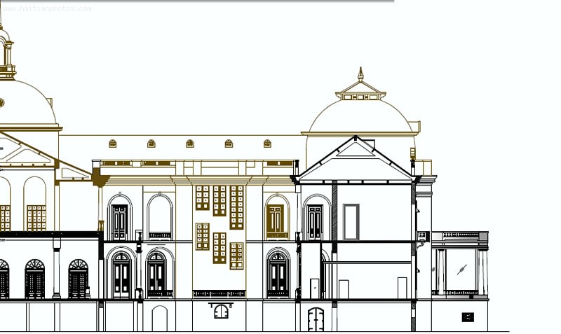 Haiti National Palace Plan