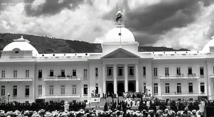 Haiti National Palace, Palais National
