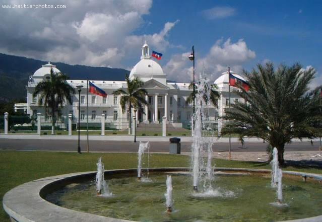 Haiti National Palace Area