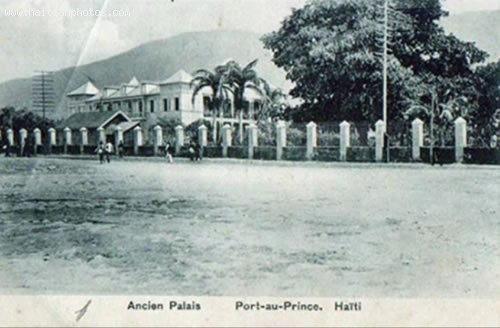 Haiti National Palace, Explosion