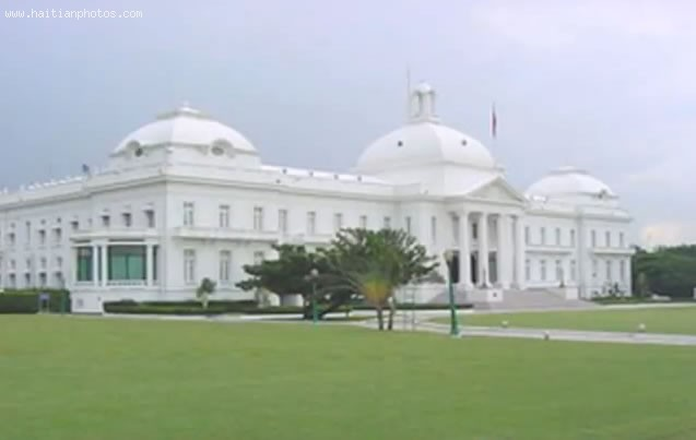 Haiti National Palace, Construction