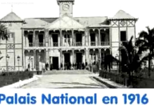Haiti National Palace, French-style Villa