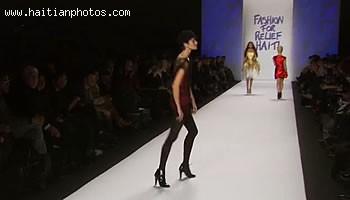 Fashion For Relief Haiti - Neomi Campbell - Earthquake