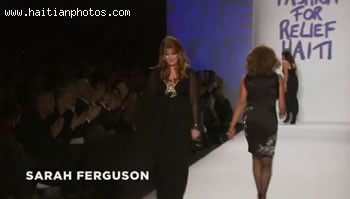 Fashion For Relief Haiti - Sarah Ferguson
