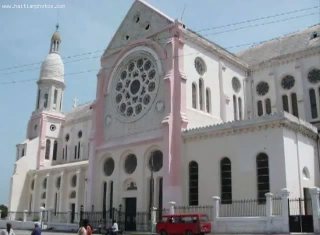 Cathedral Of Port-au-Prince Invaded By Looters