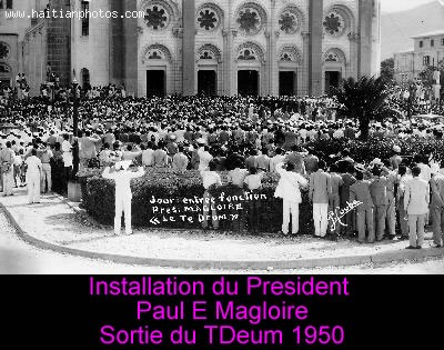 Cathedral Of Port-au-Prince Former Haitian President Paul Eugene Magloire