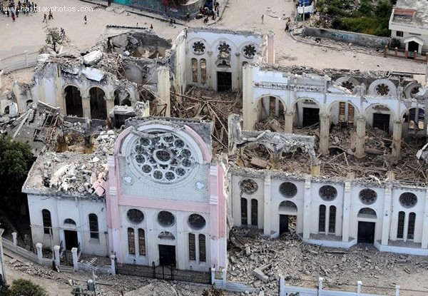 Cathedral Of Port-au-Prince Destruction