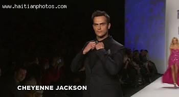 Fashion For Relief Haiti - Cheyenne Jackson