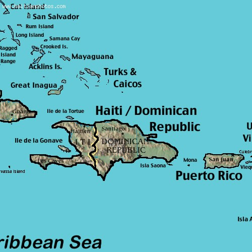 Turks And Caicos Islands Distance To Haiti