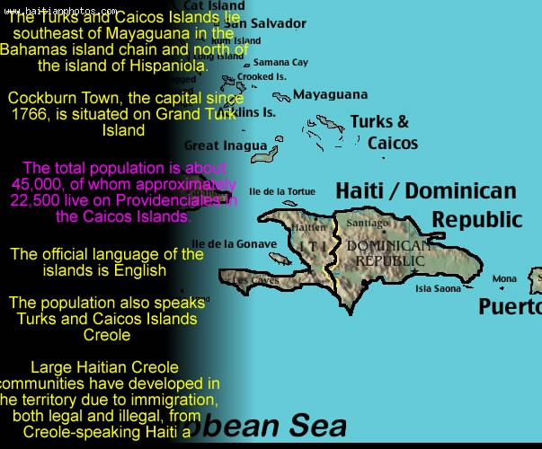 Turks And Caicos Islands British Territories