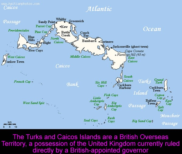 Turks And Caicos Islands Haitian Boat Capsized