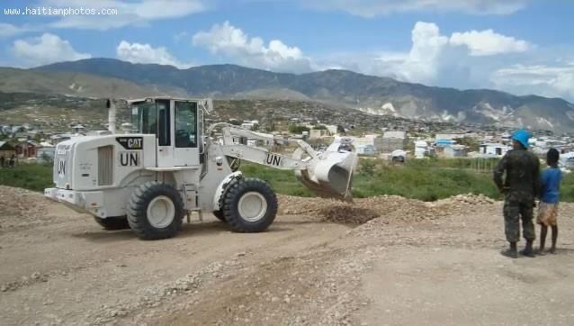 Minustah Working In Haiti