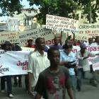 Protest Against Minustah