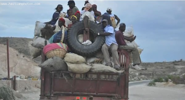 Road Accident Caused By Driving Condition In Haiti