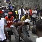 Young People Demonstrating In Haiti