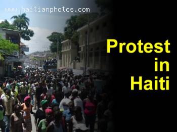 Protest In Cap-Haitian
