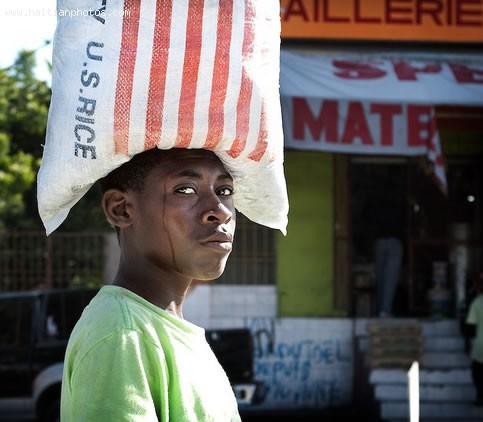 Rice Haiti Imported