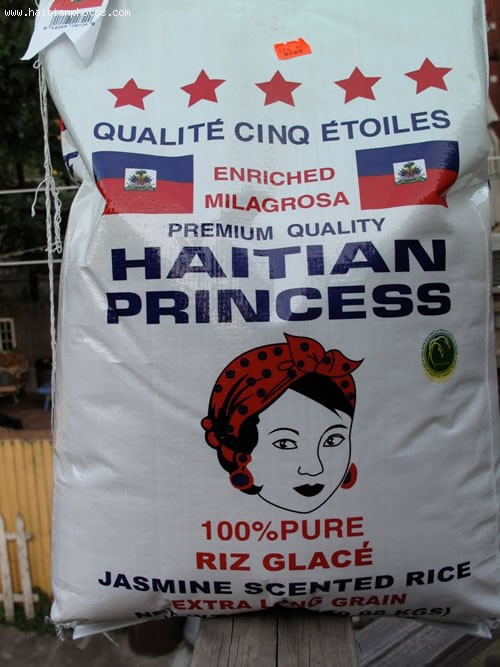 Haiti Rice Bag