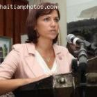Tourism In Haiti, Tourism Minister Stephanie Villedrouin