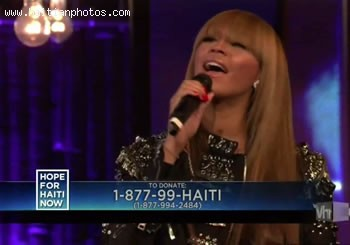 Hope For Haiti Now Telethon - Beyonce