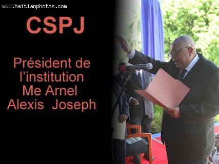 CSPJ Ms. Anel Alexis Joseph President