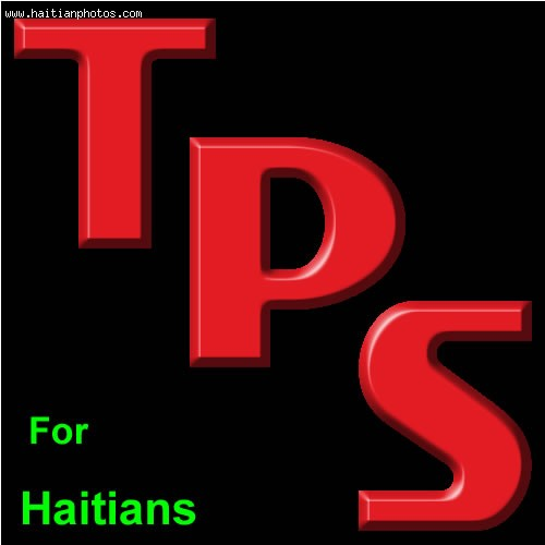 TPS For Haitians Extended