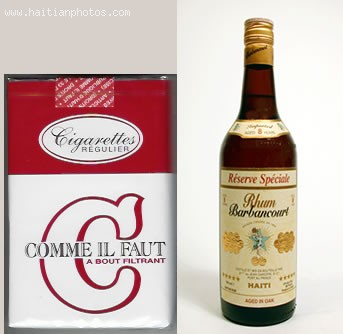Haitian Alcohol And Cigarettes