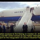 Cap-Haitian Airport Receives First Boeing With Hillary Clinton