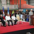 Caracol Industrial Park Inauguration Present Were Rene Preval, Michel Martelly, Hillary Clinton, Bill Clinton