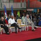 Caracol Industrial Park Inauguration With Rene Preval, Michel Martelly, Hillary Clinton, Bill Clinton