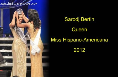 Sarodj Bertin Queen Miss Hispanoamericana 2012