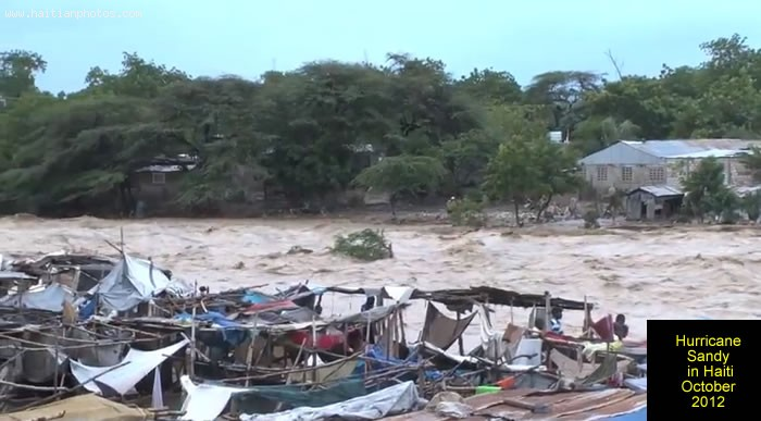 Hurricane Sandy On Haiti And Death