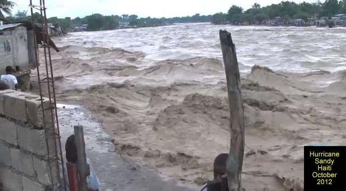 Hurricane Sandy On Haiti And The Rivers
