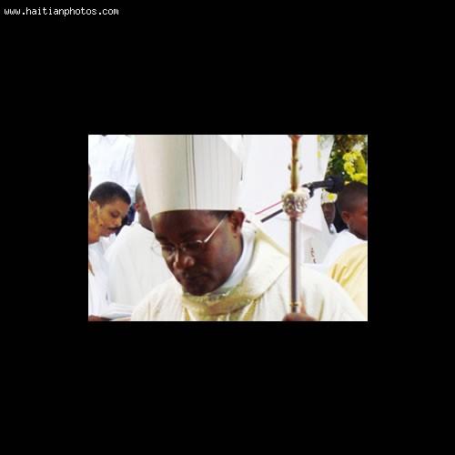 Mgr. Launay Saturne of jacmel