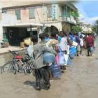 Cap-Haitian Flooding people streets