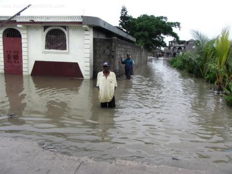Cap-Haitian street Flooding
