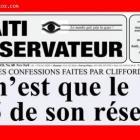 Haiti Observateur on Clifford Brandt