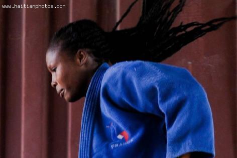 Linouse Desravine is a Haitian judoka