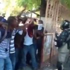 Haitian Students protest over the death of Damael d'Haiti