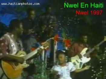 Nwel In Haiti