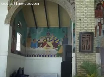 Murals At The Episcopal Holy Trinity Cathedral Haiti