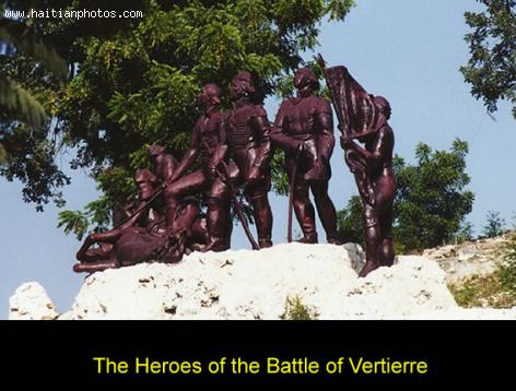 The Battle of Vertiere, near Cap-Haitian